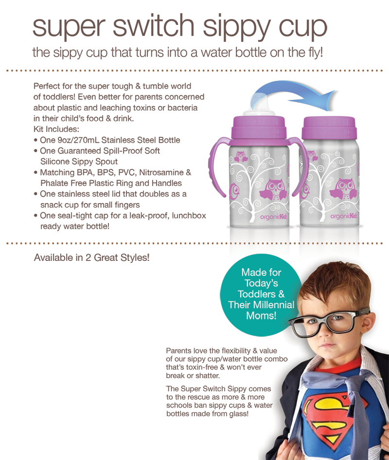 The Bottle that truly grows up with your baby!