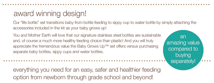 oK Baby Grows Up Page 2 860 23 Baby Grows Up Bottle Kit